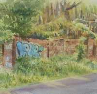 Picture of the Week: <p> The derelict gates of the old prisoner of war camp on Redires Road stand bricked up and decaying. I read that many thousands of German prisoners were kept here in the latter years of WW2. I think a few escaped and made it as far as Rotherham !</p>