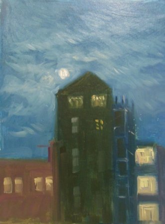 Picture of the Week: <p> A moon rise over the UTC College on Matilda Street caught my eye the other week.</p>