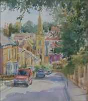 Picture of the Week: <p> Looking down Botanical Road (which is quite steep) and across to houses in Psalter Lane in the distance.</p>