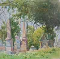 Picture of the Week: <p> A day of Spring sunshine in Ringinglow Road cemetery with dappled shadows on the graves, birds are singing but not much buzzing of the bees as yet.</p><p>I have an exhibition currently of paintings from Just Up My Street at the Harland cafe on John St, just off Bramall Lane, on until the end of the month. Good pictures and great coffee !</p>